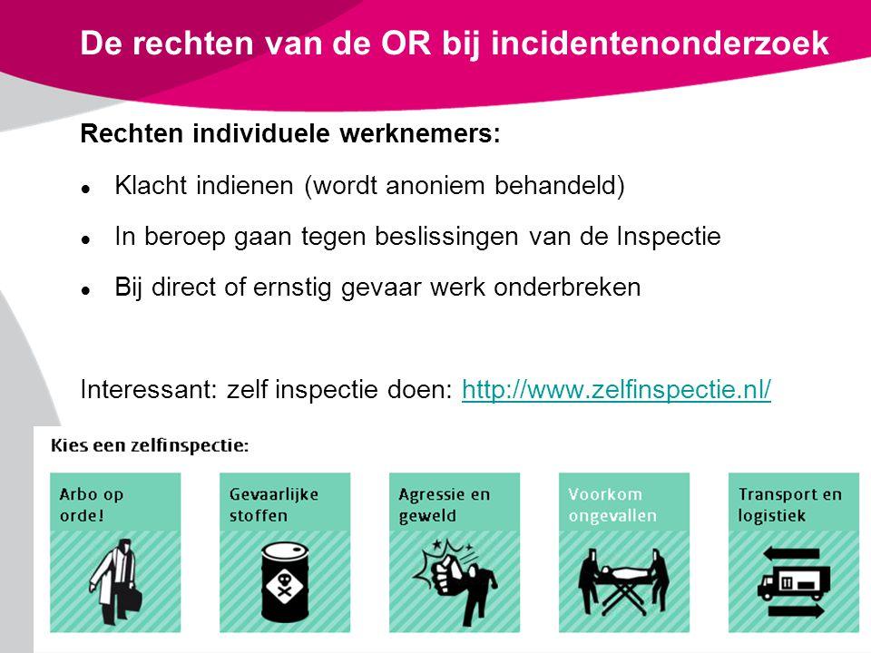 De rechten van de OR bij incidentenonderzoek