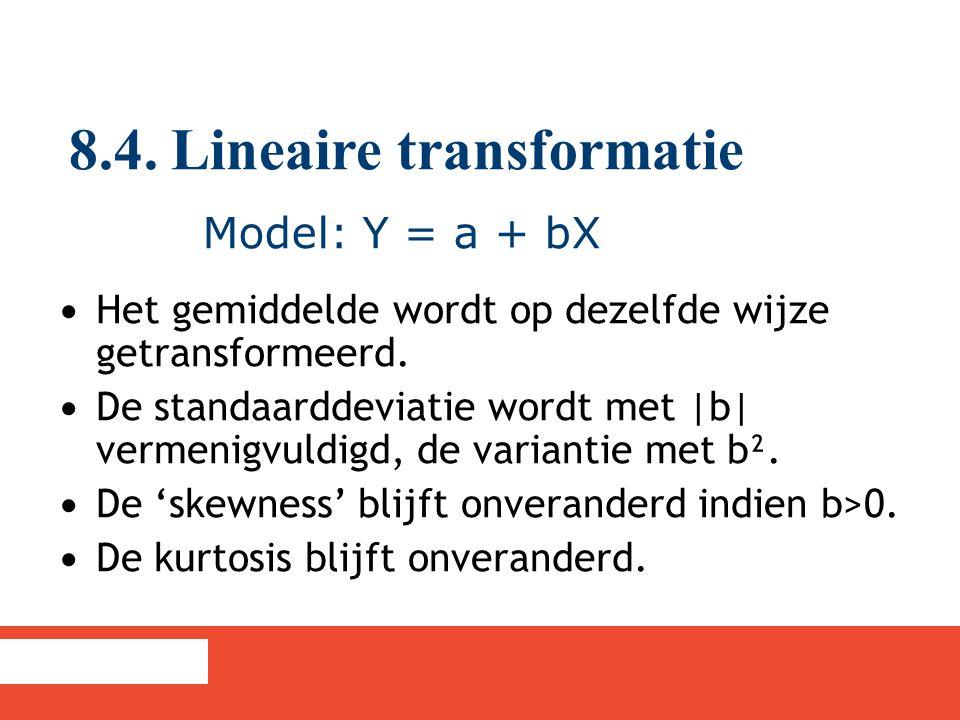 8.4. Lineaire transformatie