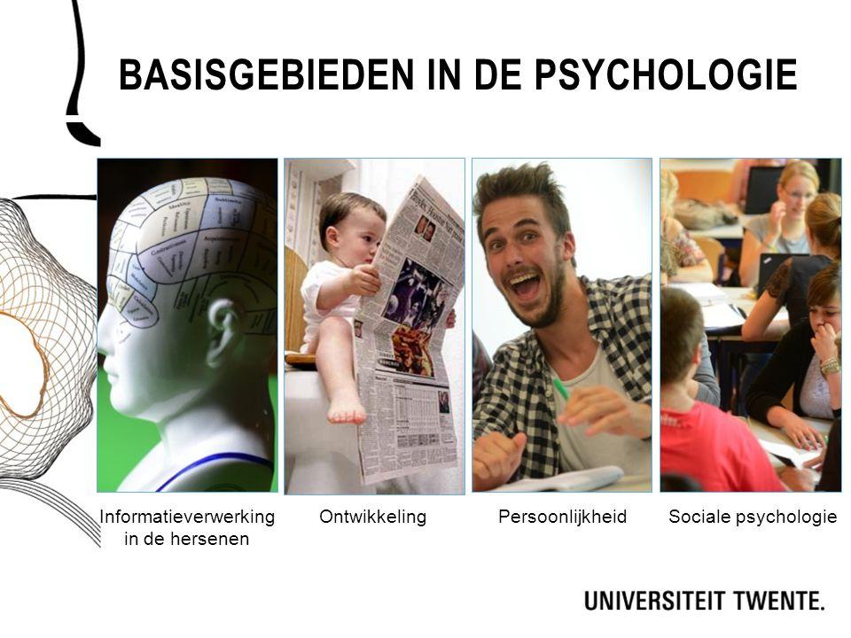 Basisgebieden in de psychologie