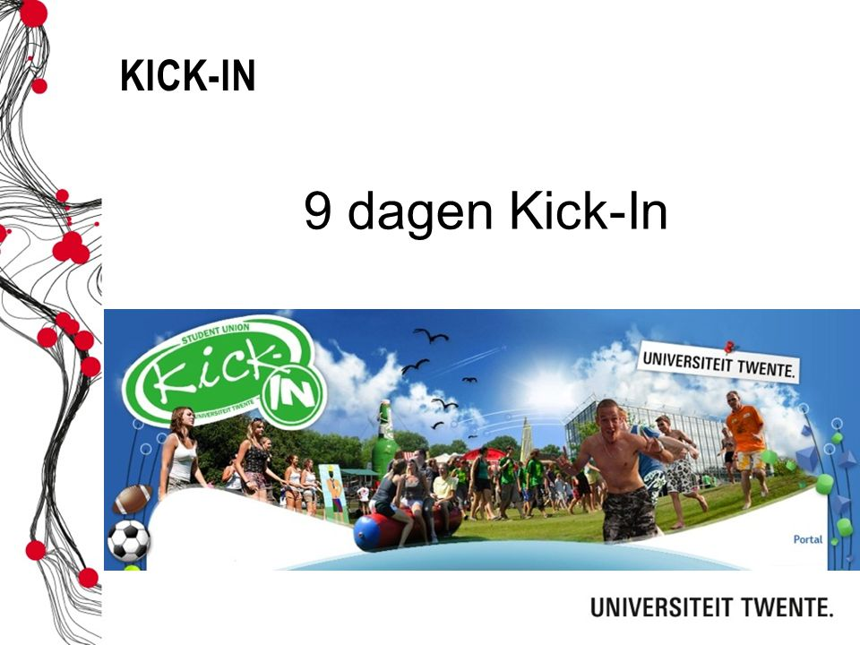 Kick-in 9 dagen Kick-In.