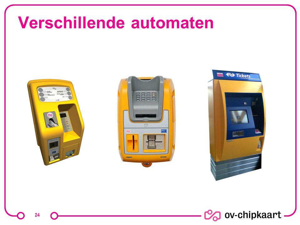 Verschillende automaten