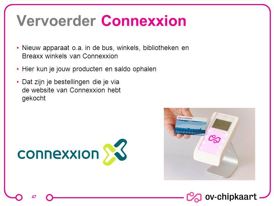 Vervoerder Connexxion