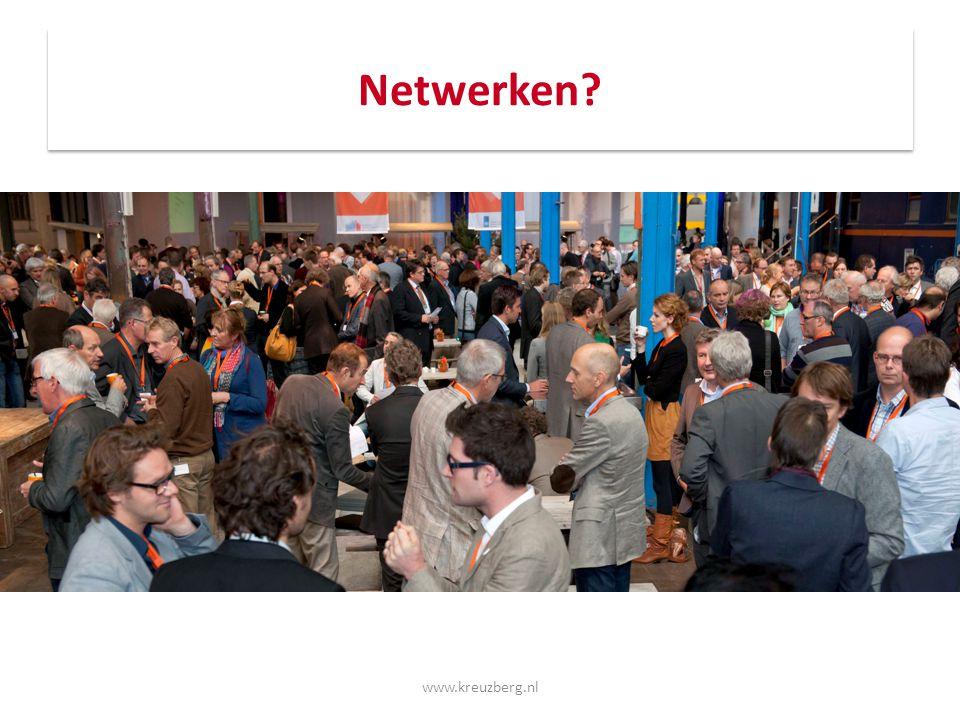 Netwerken Netwerken Netwerken