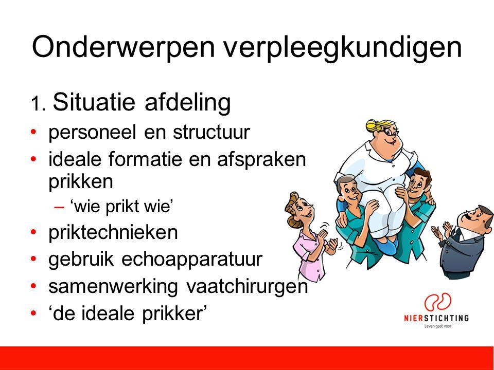 Onderwerpen verpleegkundigen