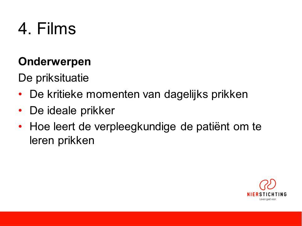 4. Films Onderwerpen De priksituatie