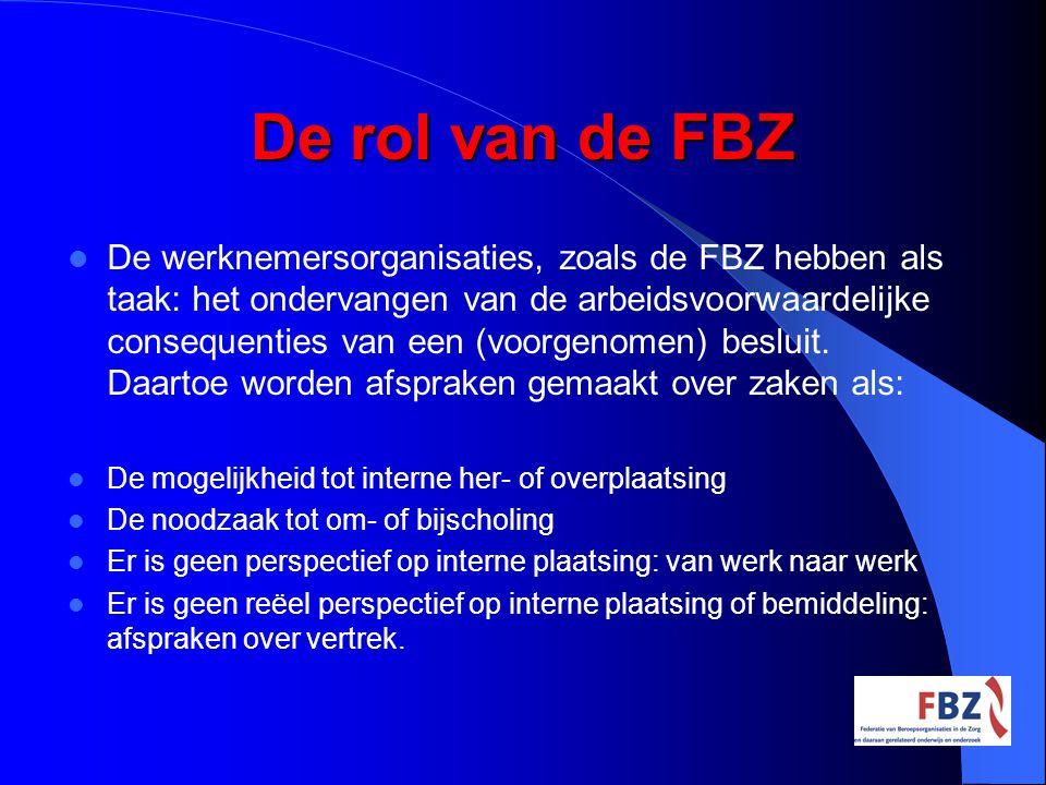 De rol van de FBZ