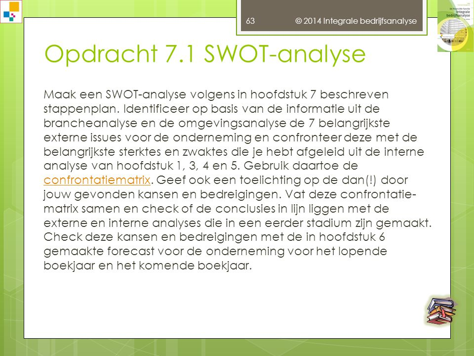 Opdracht 7.1 SWOT-analyse
