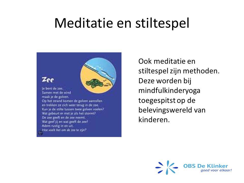 Meditatie en stiltespel