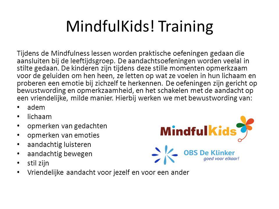 MindfulKids! Training