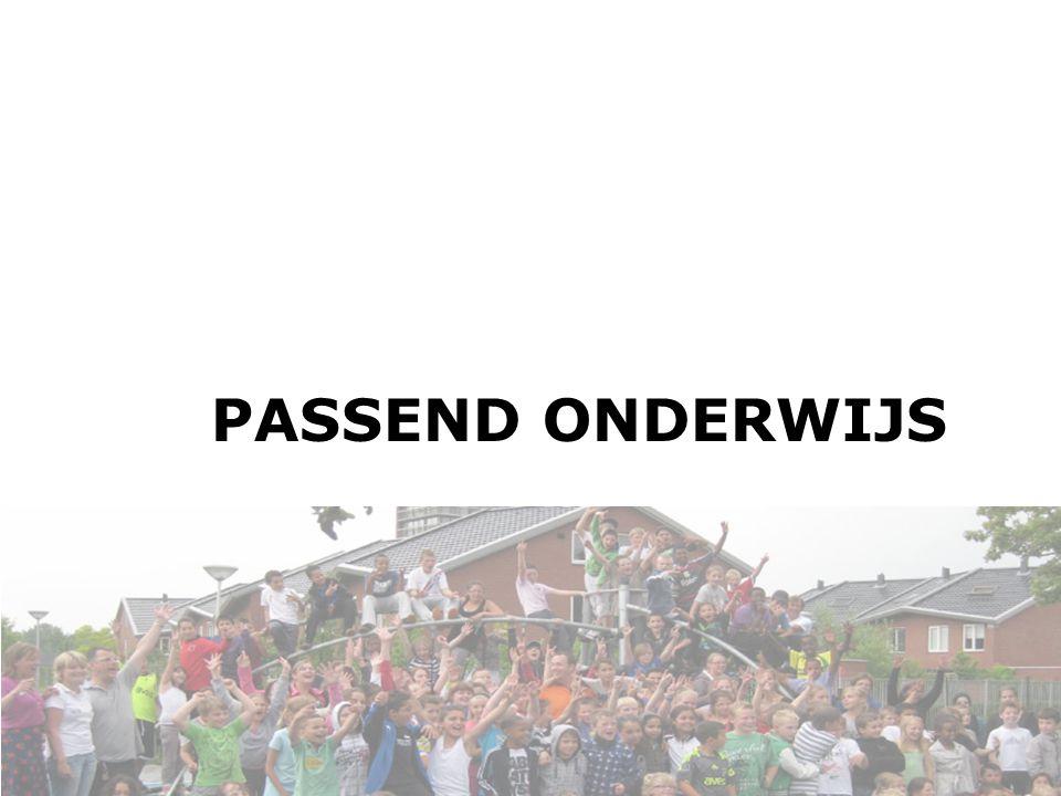 PASSEND ONDERWIJS