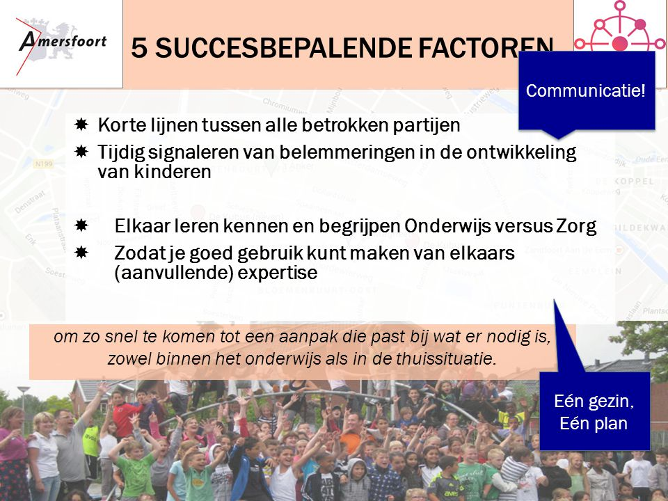 5 succesbepalende factoren