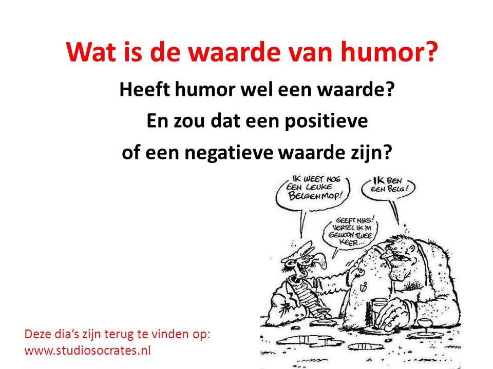 Wat is de waarde van humor