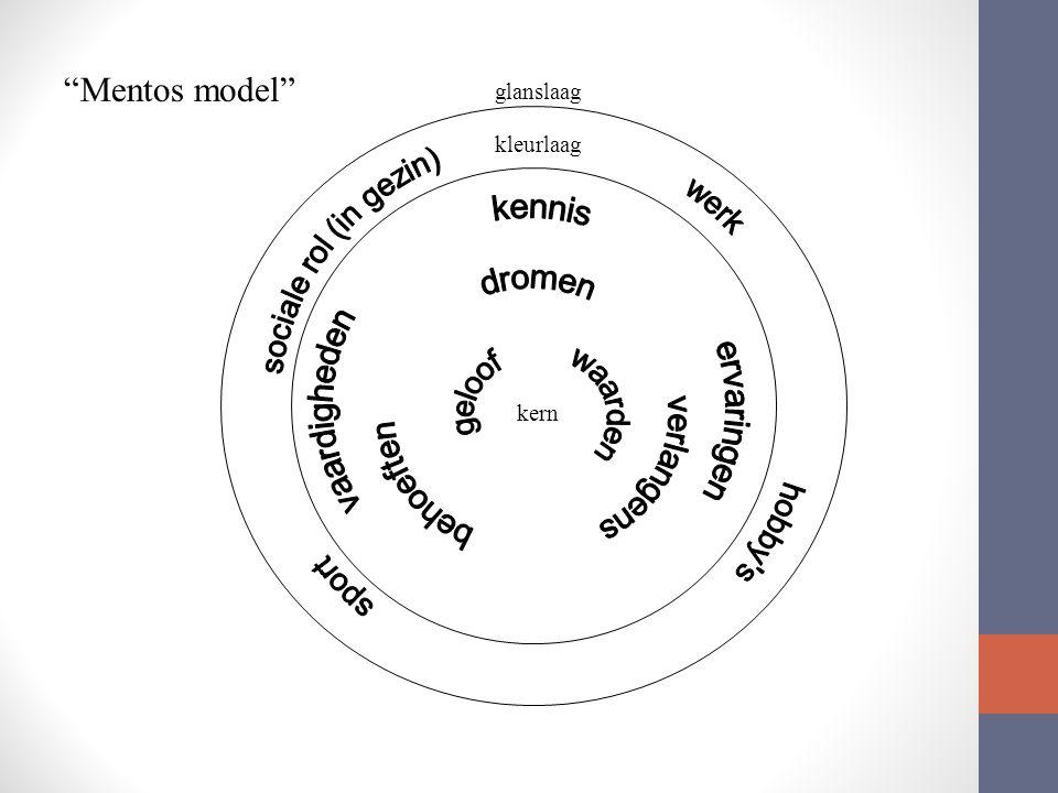 Mentos model vaardigheden kennis ervaringen