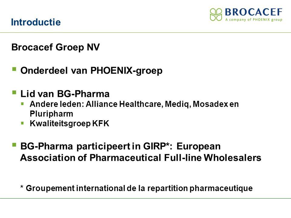 Onderdeel van PHOENIX-groep Lid van BG-Pharma