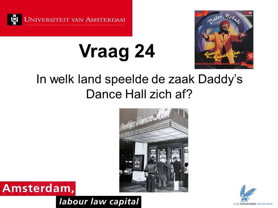 In welk land speelde de zaak Daddy's Dance Hall zich af