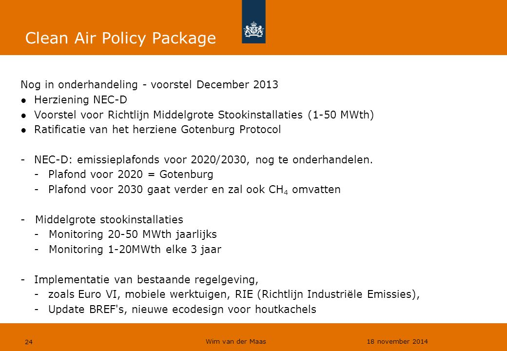 Clean Air Policy Package
