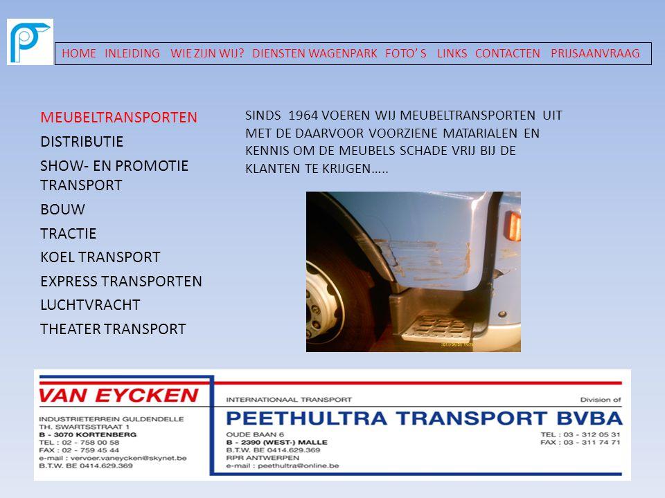 SHOW- EN PROMOTIE TRANSPORT BOUW TRACTIE KOEL TRANSPORT