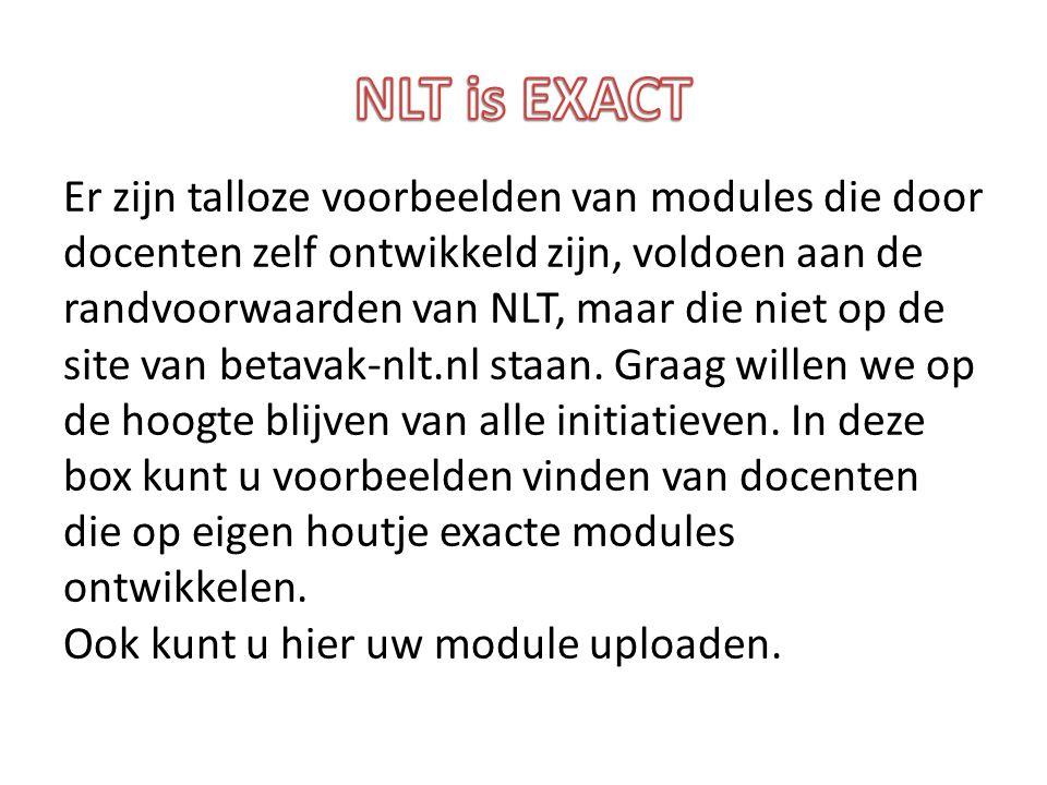 NLT is EXACT