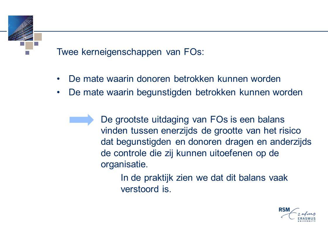 Twee kerneigenschappen van FOs:
