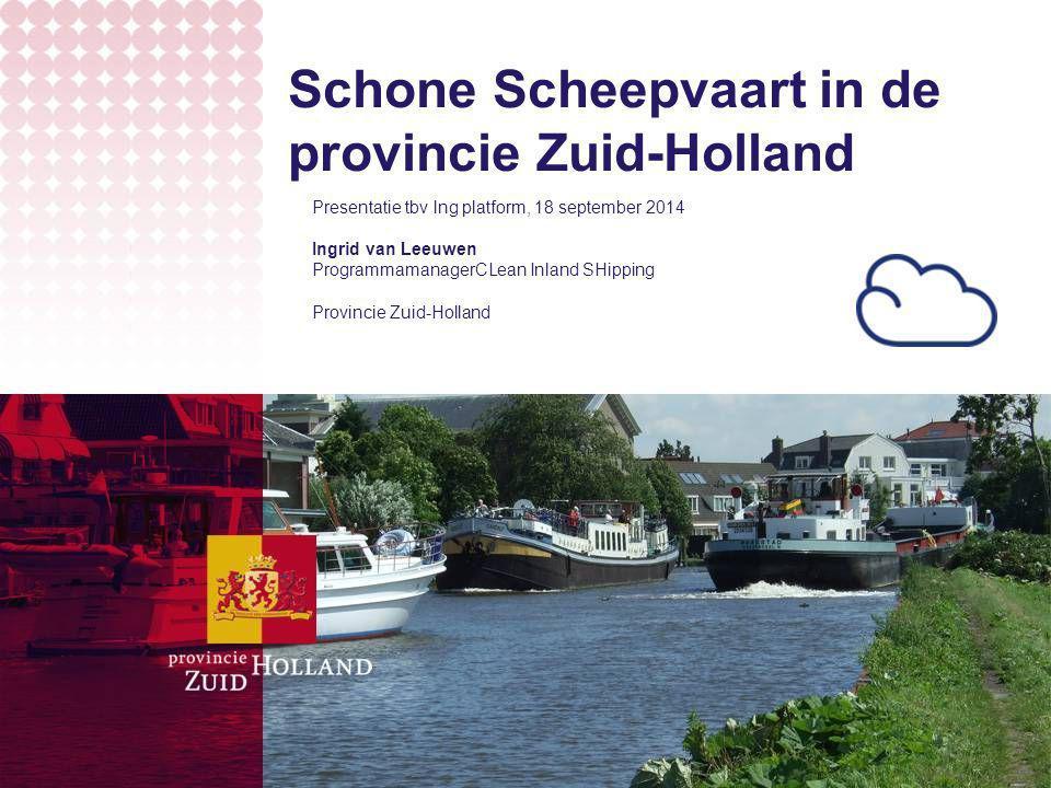 Schone Scheepvaart in de provincie Zuid-Holland