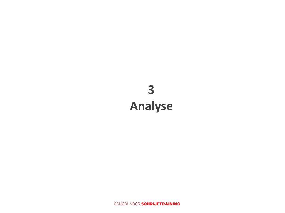 3 Analyse
