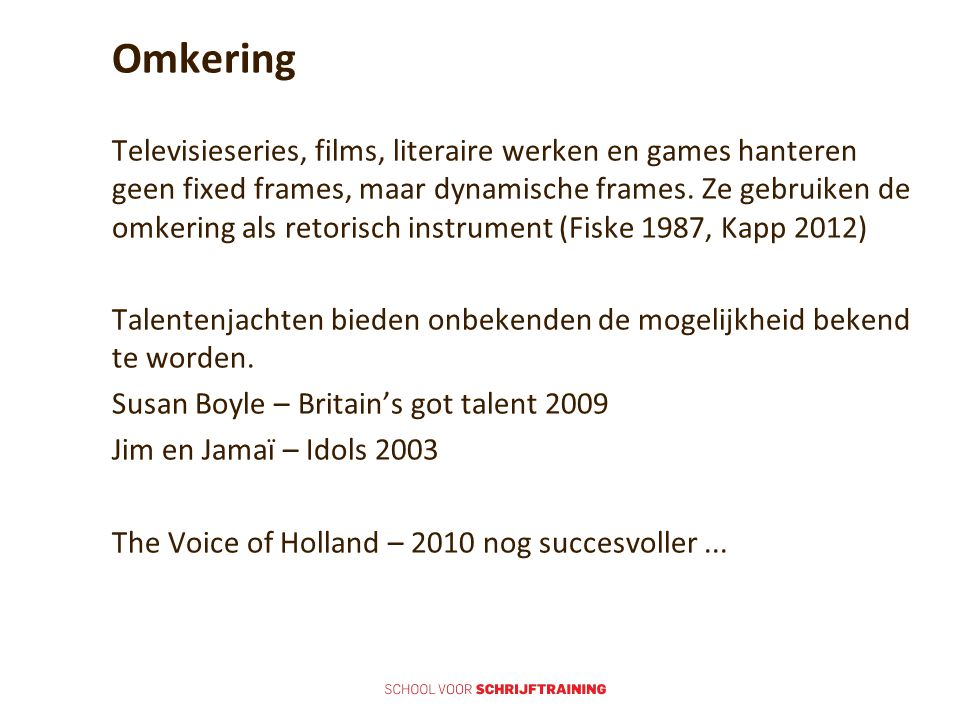 Omkering