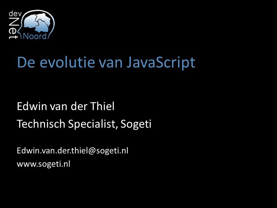De evolutie van JavaScript