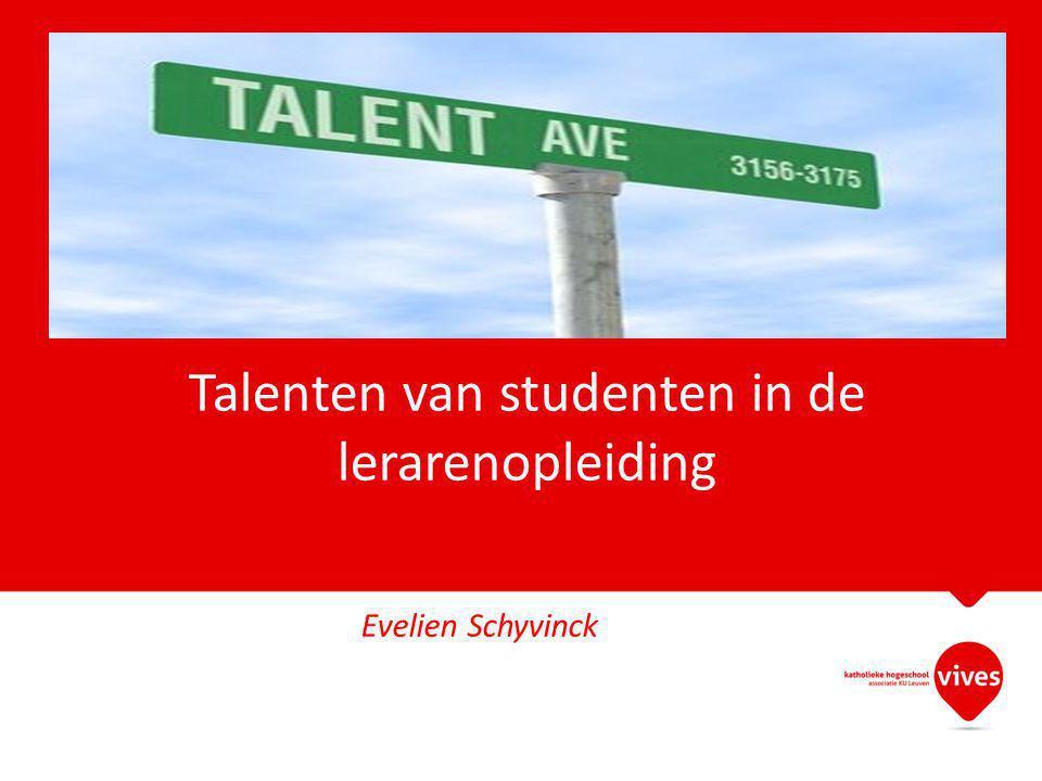 Talenten van studenten in de lerarenopleiding