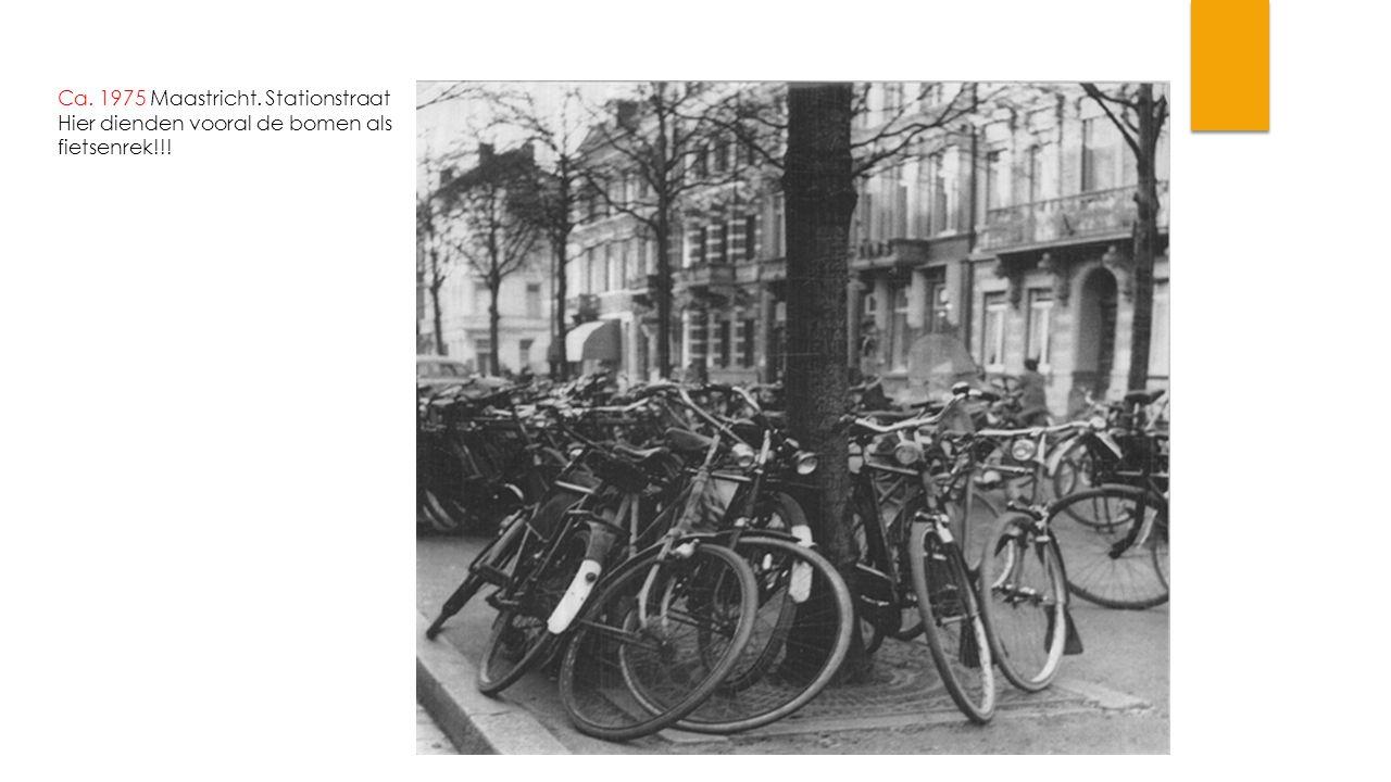 Ca. 1975 Maastricht. Stationstraat