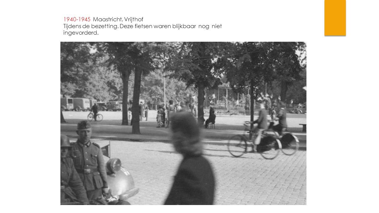 1940-1945 Maastricht, Vrijthof Tijdens de bezetting.