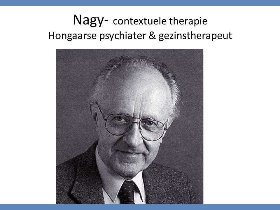 Nagy- contextuele therapie Hongaarse psychiater & gezinstherapeut