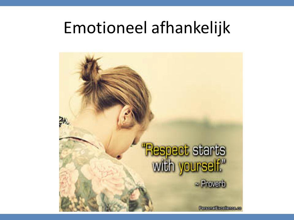 Emotioneel afhankelijk