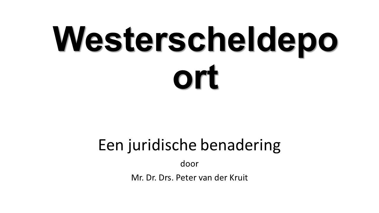 Een juridische benadering door Mr. Dr. Drs. Peter van der Kruit