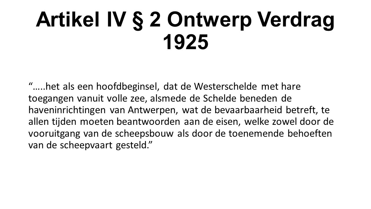 Artikel IV § 2 Ontwerp Verdrag 1925