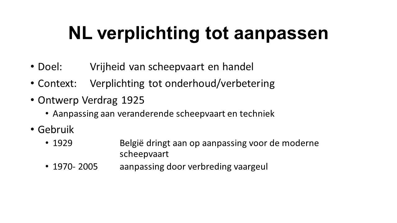 NL verplichting tot aanpassen