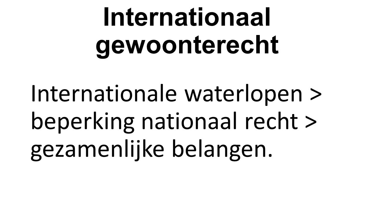 Internationaal gewoonterecht