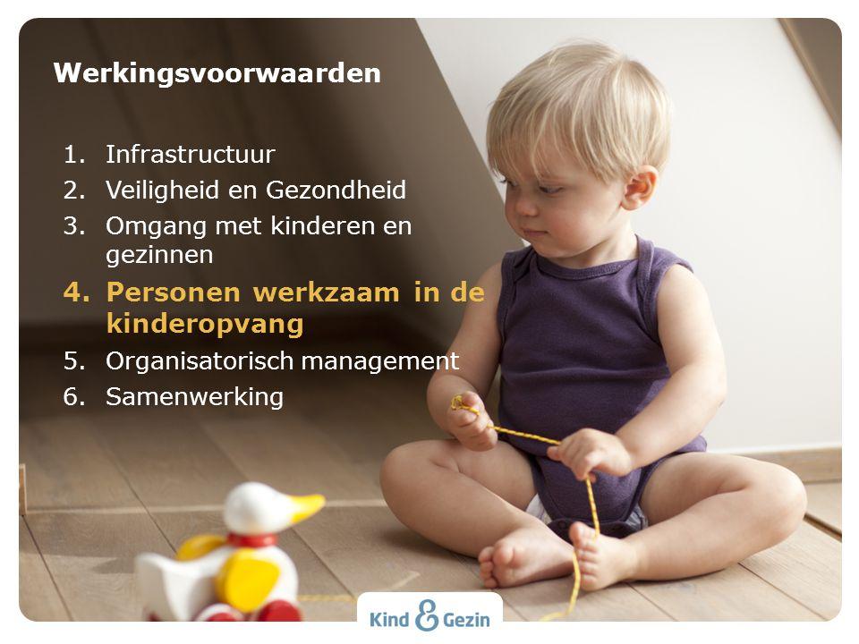 Personen werkzaam in de kinderopvang