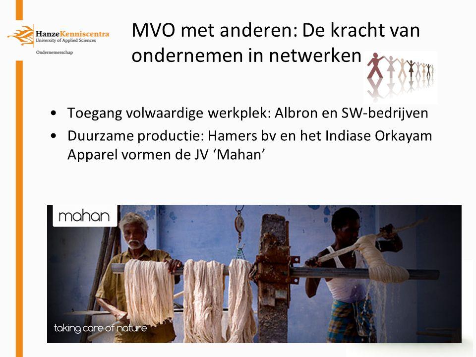 MVO met anderen: De kracht van ondernemen in netwerken