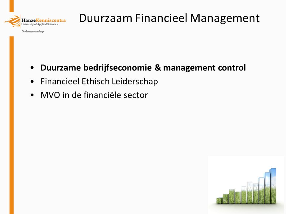 Duurzaam Financieel Management