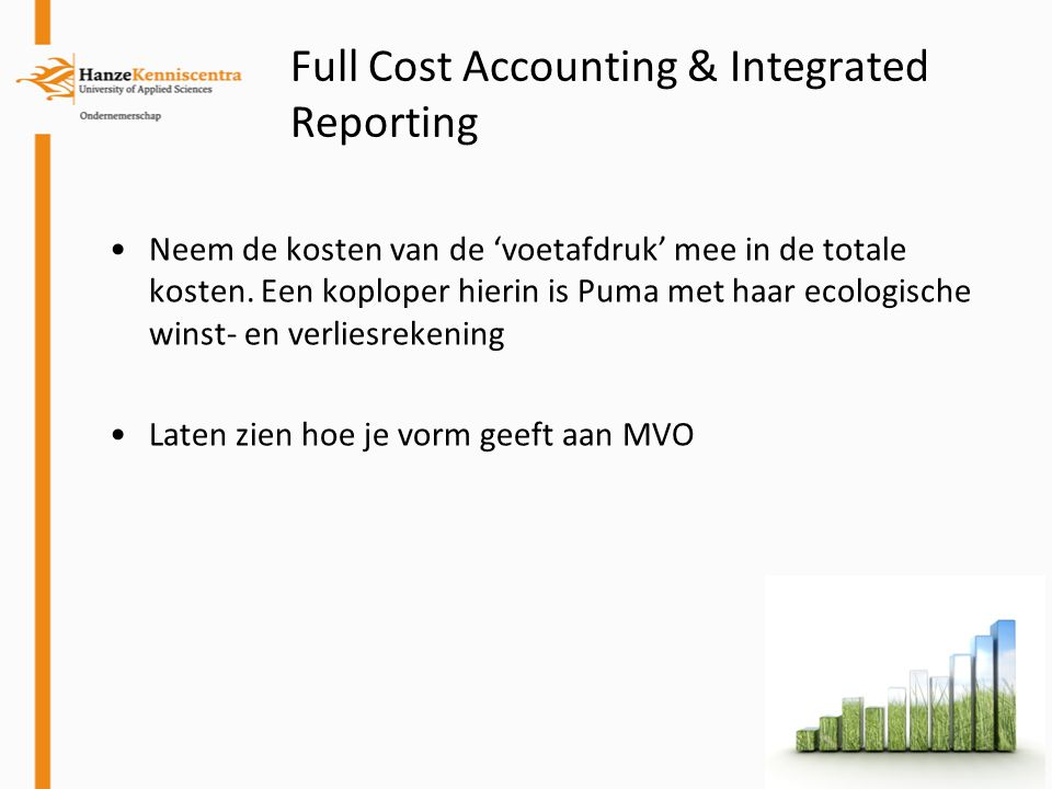 Full Cost Accounting & Integrated Reporting