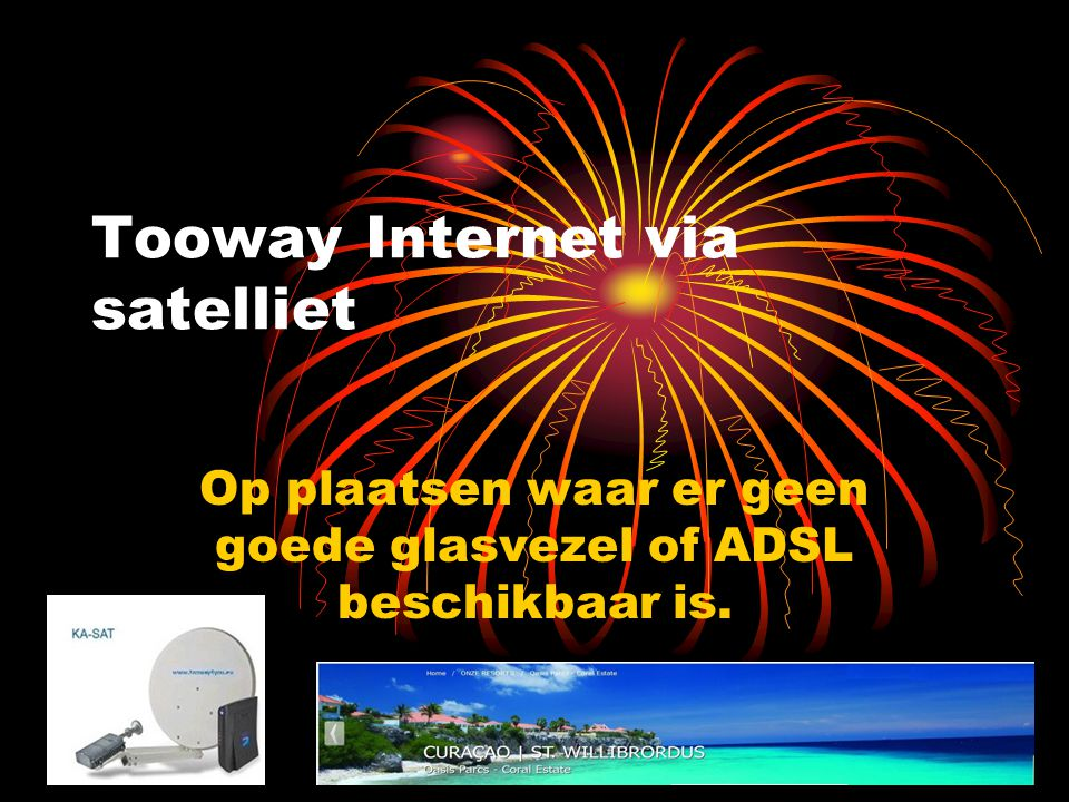 Tooway Internet via satelliet