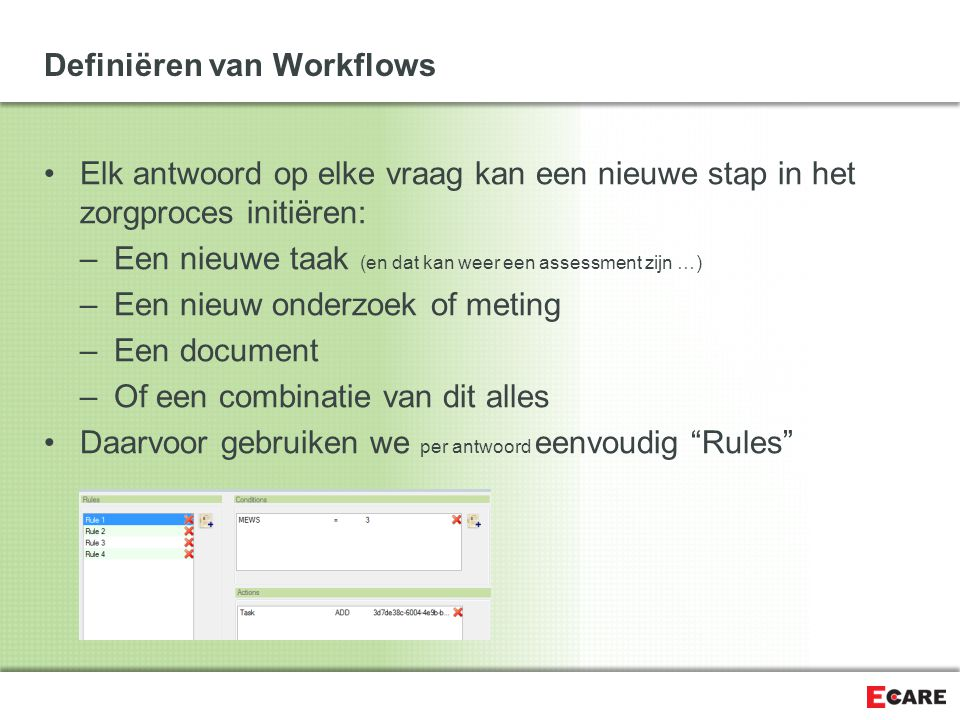 Definiëren van Workflows