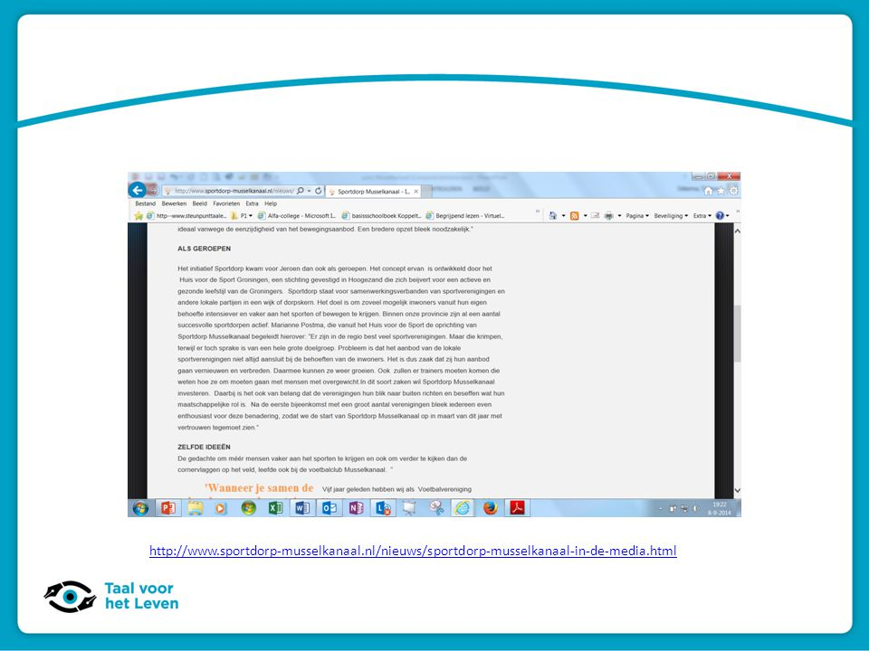 http://www. sportdorp-musselkanaal