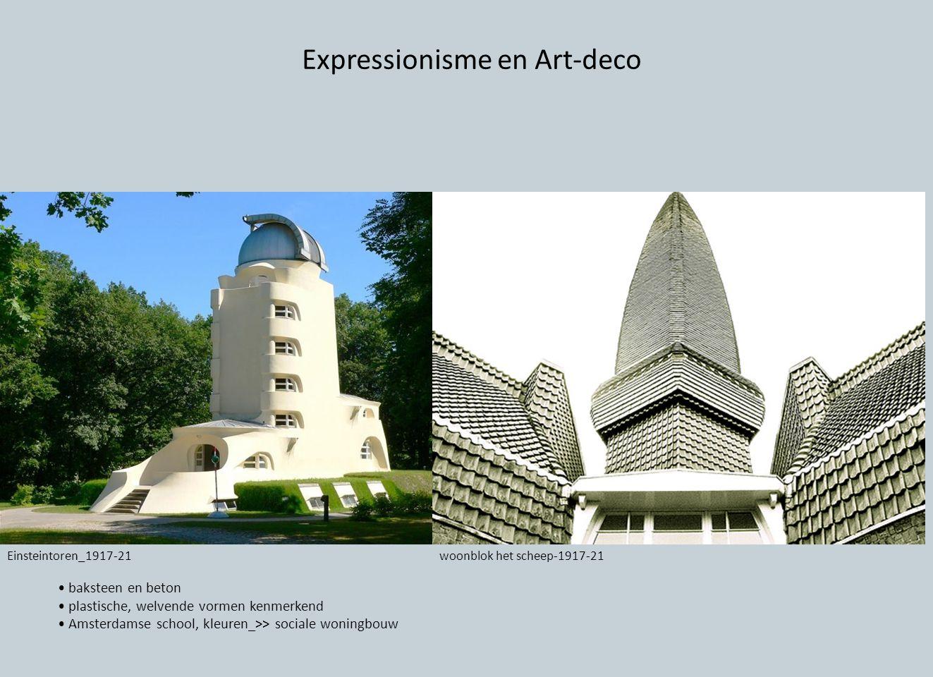 Expressionisme en Art-deco
