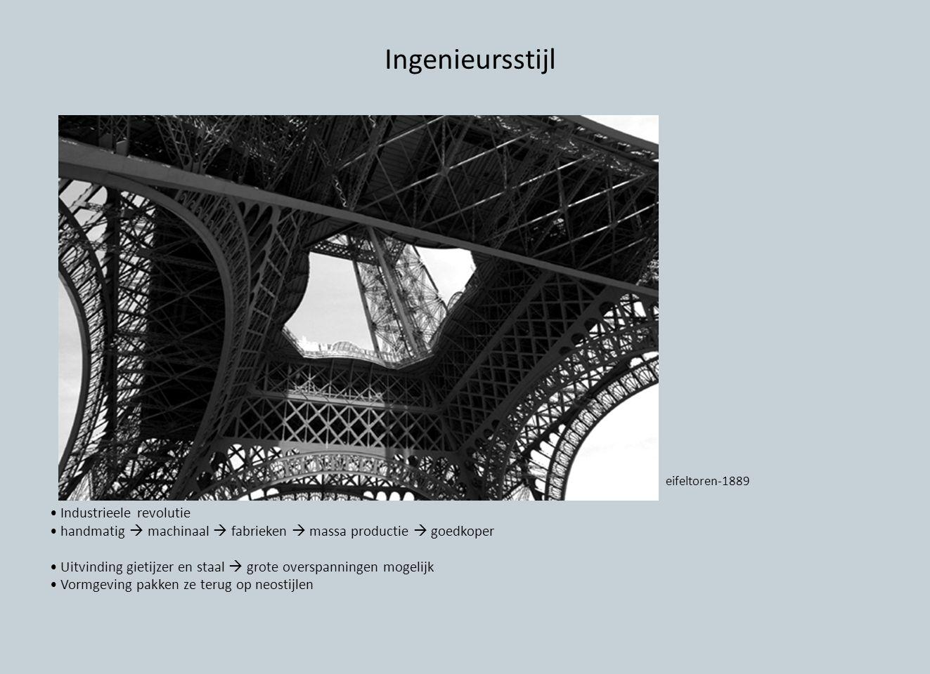 Ingenieursstijl • Industrieele revolutie
