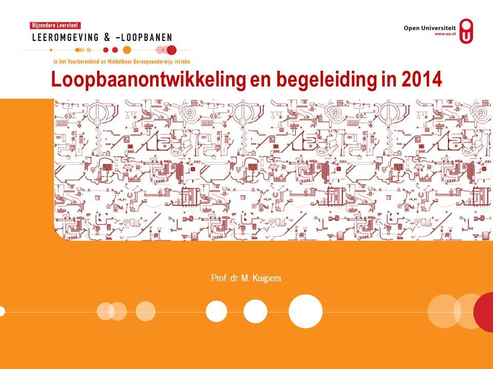 Loopbaanontwikkeling en begeleiding in 2014