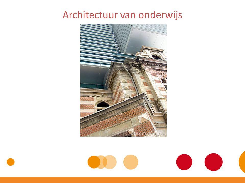 Architectuur van onderwijs