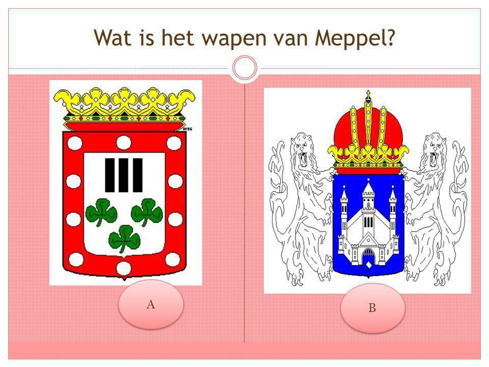 Wat is het wapen van Meppel