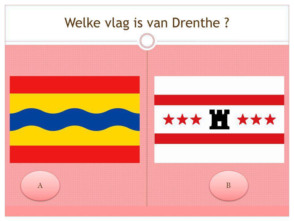Welke vlag is van Drenthe