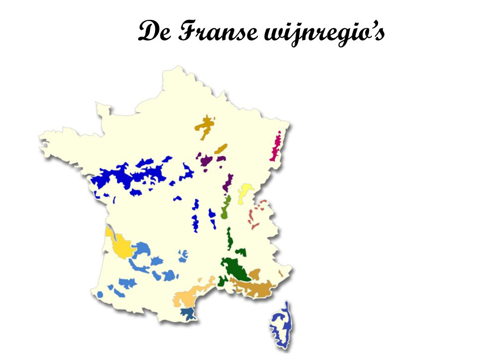 De Franse wijnregio's